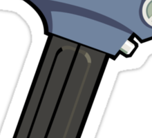 Ray Gun #2 Sticker