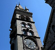 Posterized Astronomical Clock Messina by MissR