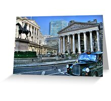"""""""A Historical View"""" Greeting Card"""