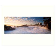 Mount Maunganui Panoramic Art Print