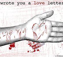 the love letter by deadbunneh _
