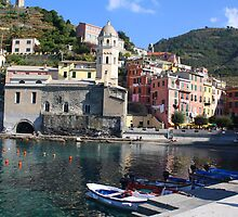 Vernazza, Cinque Terre by April-in-Texas