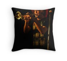 The perfect pitch Throw Pillow