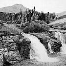 Lundbreck Falls by Mike Wytinck