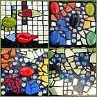 mosaic collage kids having fun by AshleighS