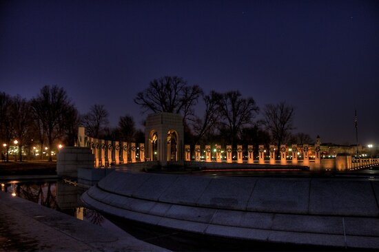 World War II Memorial by Terence Russell