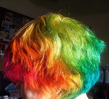My Rainbow Hair by Angie Spicer
