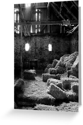 Isaac Long's Barn by Mark Van Scyoc