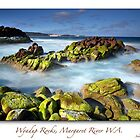 Wyadup Rocks (framed) by thorpey