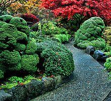 Butchart Gardens by Anne McKinnell