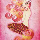 Coraleen, Mermaid in Pink by sandygrafik