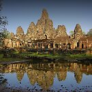 Bayon Temple, Ankor Thom by arip