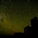 Lilimur Silo Star Trail by Murray Wills