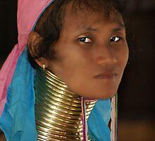 Long Neck Woman by Elaine Short