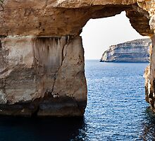 Through the Azure Window by William Attard McCarthy