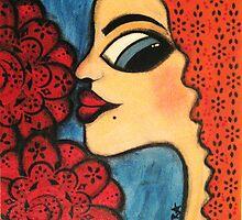 Fleur by Barbara Cannon  ART.. AKA Barbieville
