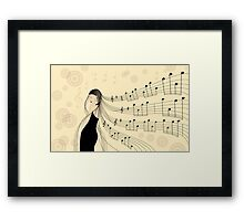 * dancer * Framed Print