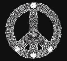 Peace Bones by ZugArt