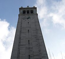 Sather Tower in Berkeley, CA by rferrisx