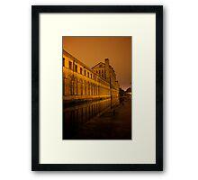 Salt's Mill Framed Print