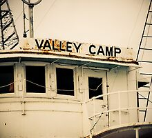 Valley Camp - Retired Freighter by Kathy Nairn