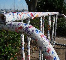 Bike Rack at the Dali Museum by Diana Forgione