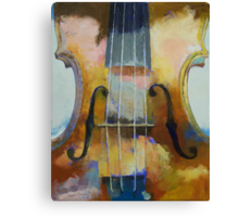 Violin Painting Canvas Print