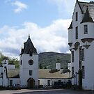 Blair Castle forecourt, Blair Atholl, Scotland by BronReid