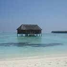 sleep in the ocean of the Maldives, Meeru Island  by Charlie Pallett