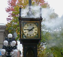 """Right on Time""  (Gastown Steam Clock, Vancouver, BC) by AnnDixon"