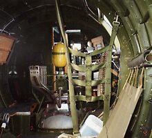 B-17 Yankee Lady ball gunner turret by Steven Squizzero