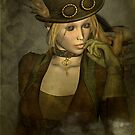Chardonnay - Steampunk Supermodel by janrique