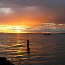 May 21st Sunset on Bellingham Bay by rferrisx
