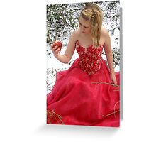 She Lives In A Fairytale 01 Greeting Card