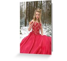 She Lives in a Fairytale 02 Greeting Card
