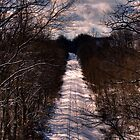 Invisible Train  by Matthew Hutzell