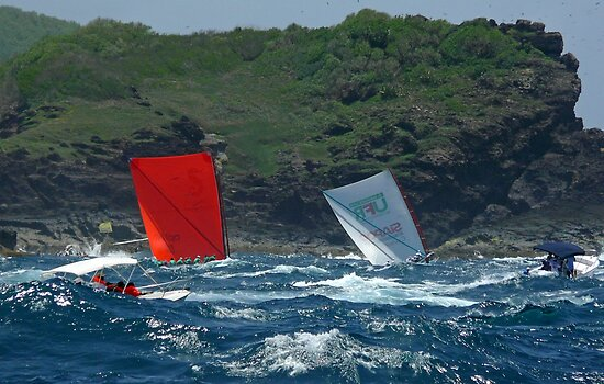 Yoles Rondes - Martinique, FWI by Olivia Son