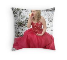 She Lives in a Fairytale 03 Throw Pillow