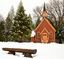 Yosemite Chapel by Nickolay Stanev