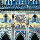 Mural, St. Vitus&#x27; Cathedral, Prague by Priscilla Turner