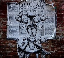 Social Contract Graffiti by raelynndesign