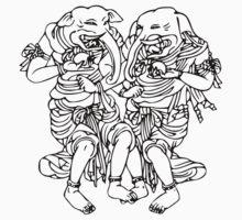 The Elephant Guys by buddhabubba