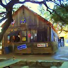Bar at Luckenbach by jabrwill