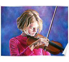 Violin Girl Poster