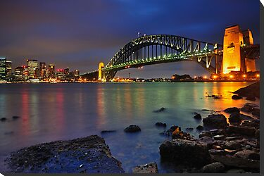 Sydney Harbour Bridge by Anton Gorlin