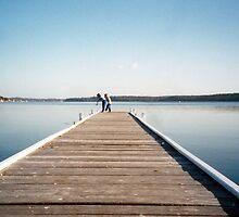 Warners Bay Jetty by Cheryl Parkes