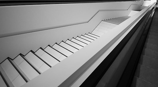 Porsche Museum - Stairs 3 by PeterBusser
