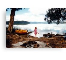 Glass Lake Canvas Print