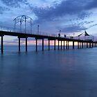 Brighton Beach Jetty by Gary Cummins
