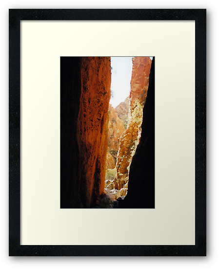 Golden Standley Chasm by Cheryl Parkes